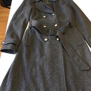 New York & Company Women's  Wool Peacoat  Size 6